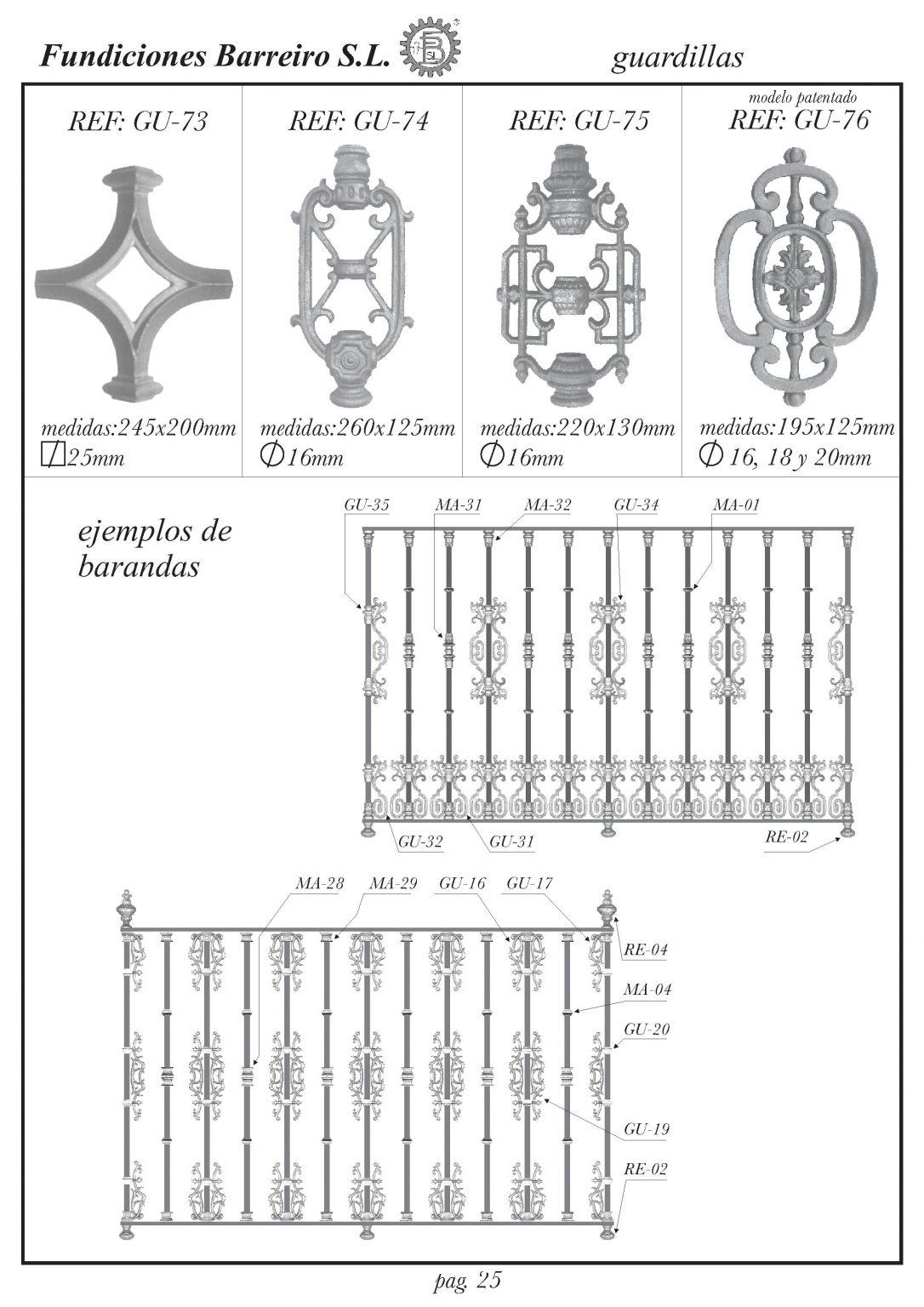 FUNDICIONES BARREIRO-CATALOGO IV-27