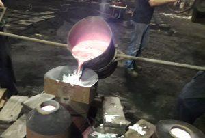 Fabricación Ancla Nao Victoria 500