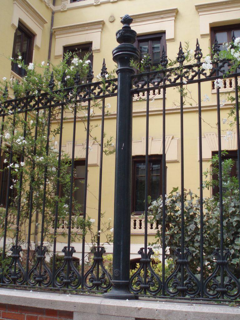 Cerramiento Palacio de los Patos en Granada
