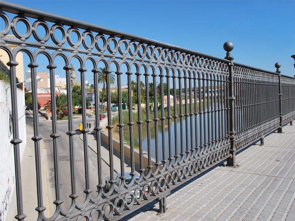 Baranda Puente en Chiclana-Cádiz