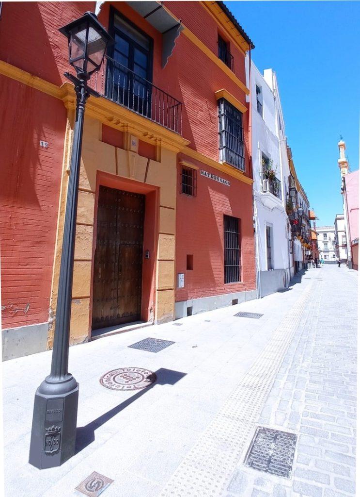 Farola en Sevilla para Artesanía del Hierro Fundido (MARVIZON)